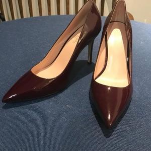 Kate Spade 凯特·丝蓓车厘子色高跟鞋