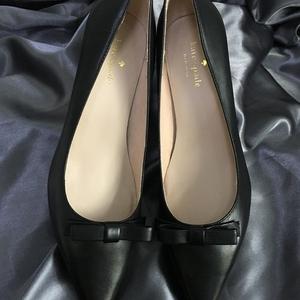 Kate Spade 凯特·丝蓓精致蝴蝶结高跟鞋