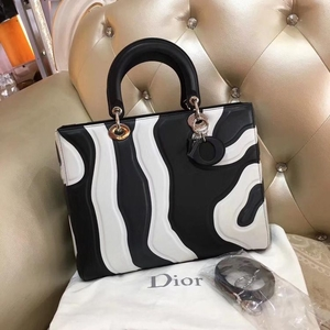 Dior 迪奥单肩手提戴妃包