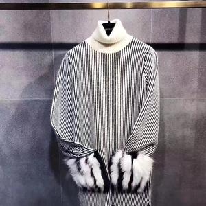 FENDI 芬迪高领毛衣针织衫
