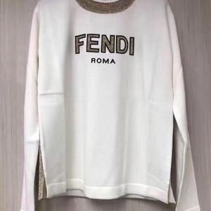 FENDI 芬迪长袖羊毛针织衫