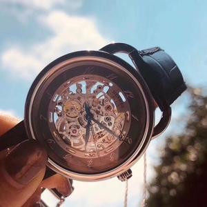 Hermès 爱马仕镂空背透机械腕表