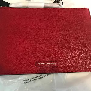 Armani Exchange 阿玛尼红色手包