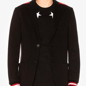 GIVENCHY 纪梵希男士Felpa对比拼接西装夹克