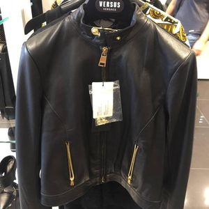 Versace 范思哲皮衣
