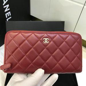 CHANEL 香奈儿 香奈儿 女士拉链钱包 Chanel手包