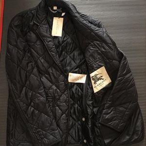 Burberry 博柏利菱形绗缝外套