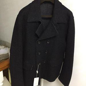 ARMANI 阿玛尼男士经典款卡班大衣