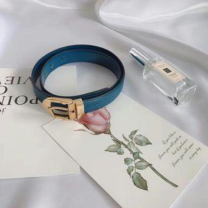 Louis Vuitton 路易·威登蓝色水波纹腰带