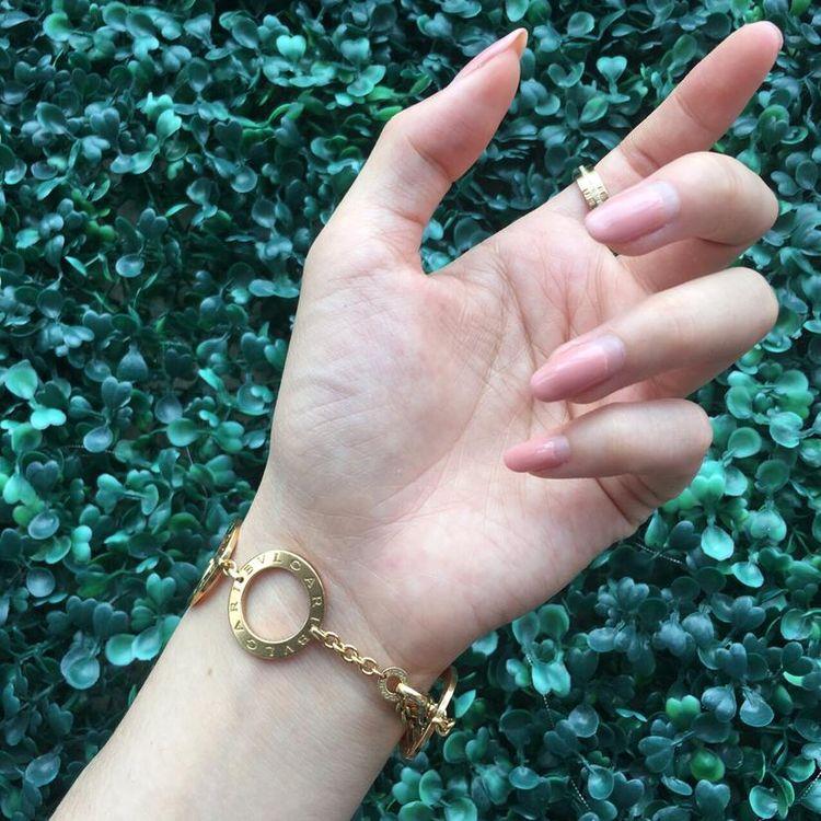 BVLGARI 宝格丽18k黄金6环手链