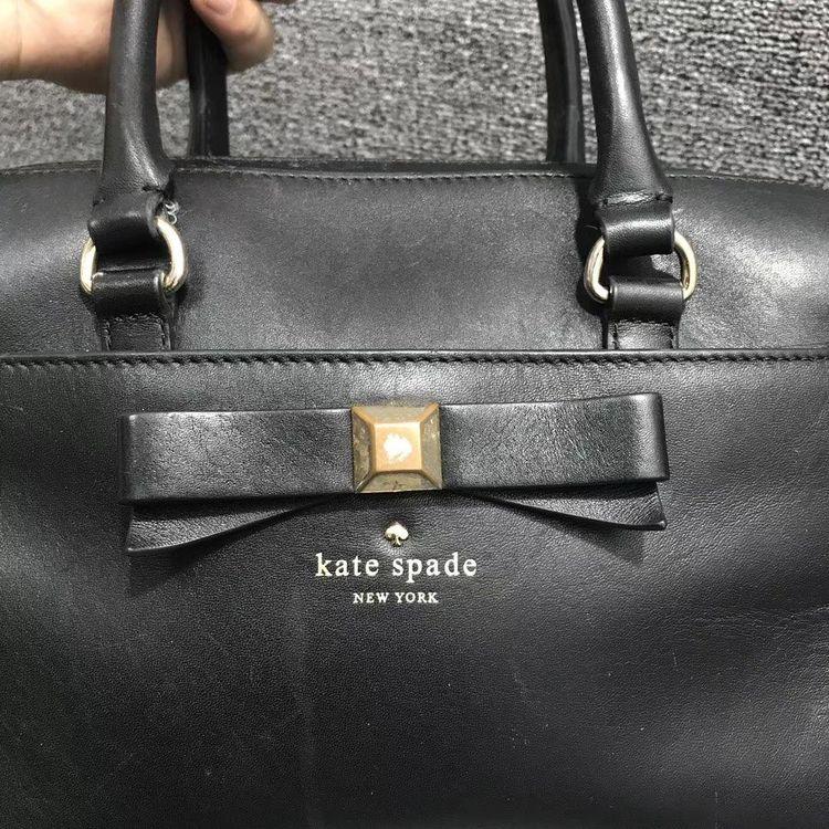 Kate Spade 凯特·丝蓓全皮单肩包