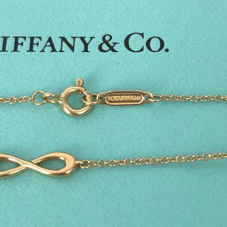 Tiffany & Co. 蒂芙尼18k金无限爱8字发财手链