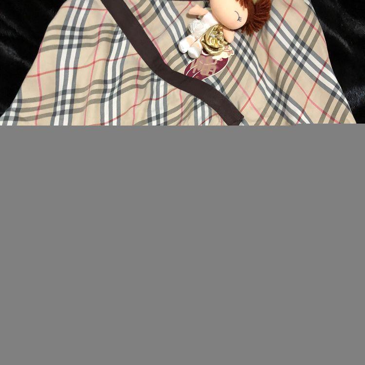 Burberry 博柏利经典格纹荷叶边半身裙