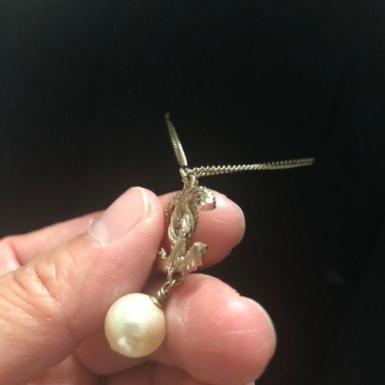 CHANEL 香奈儿珍珠吊坠项链