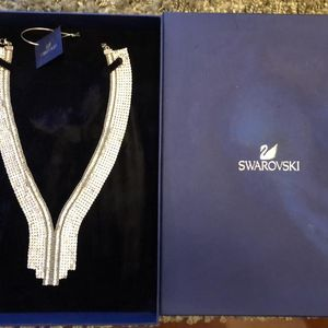 SWAROVSKI 施华洛世奇水钻晚宴奢华高贵拉锁式项链