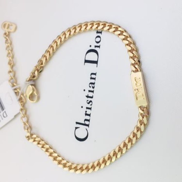 Dior 迪奥简约字母手链