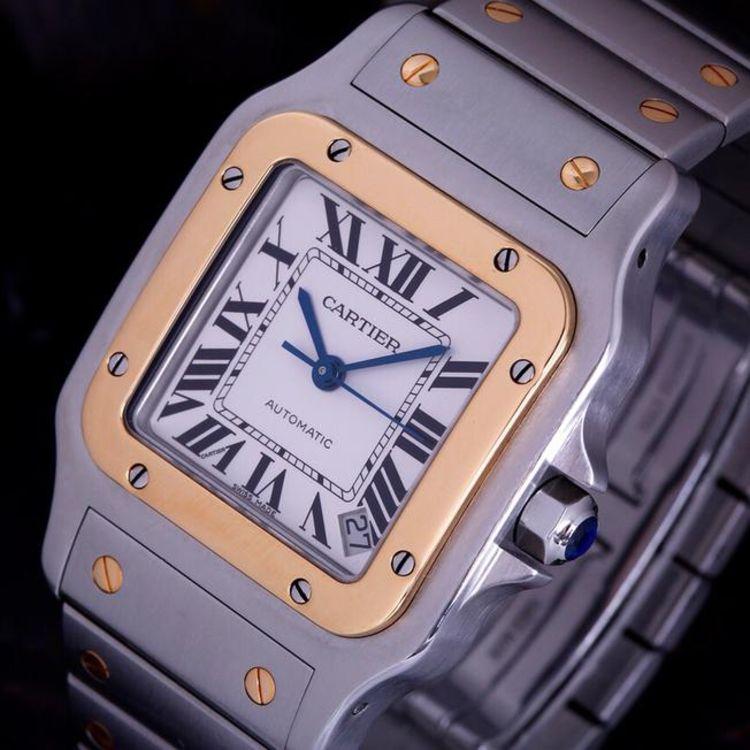 Cartier 卡地亚桑托斯男士机械表
