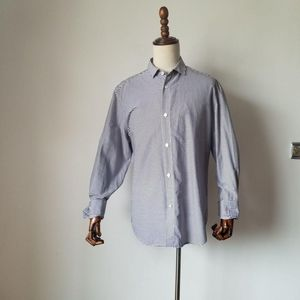 GIVENCHY 纪梵希紫色横条纹长袖衬衫