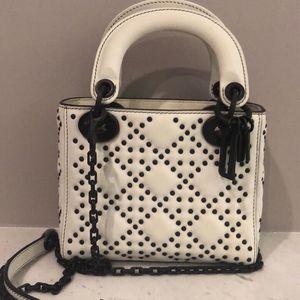 Dior 迪奥原色小牛皮袖珍手提包