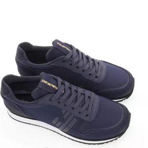 Emporio Armani 阿玛尼男士系带运动休闲鞋