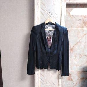 Ports 1961 宝姿1961黑色羊皮皮衣