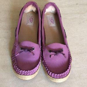 UGG 36码紫色轻便休闲鞋