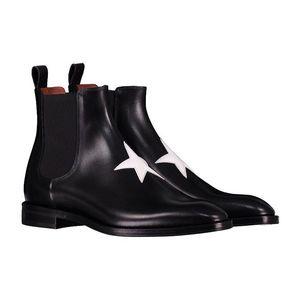 GIVENCHY 纪梵希男士切尔西全皮短靴子