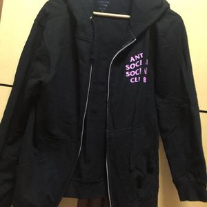 ASSC  黑粉外套