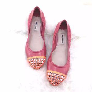 Miu Miu 缪缪水晶平底鞋