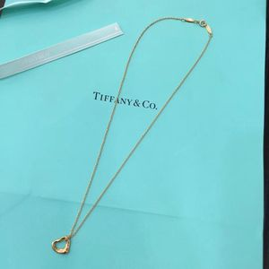 Tiffany & Co. 蒂芙尼18k玫瑰金项链