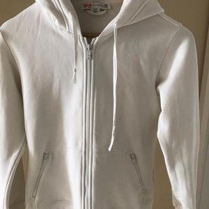 Y3 白色卫衣