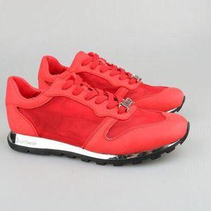 Juicy Couture橘滋女士中国红运动鞋