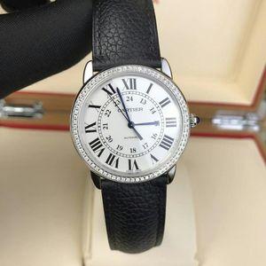 Cartier 卡地亚伦敦solo系列机械腕表