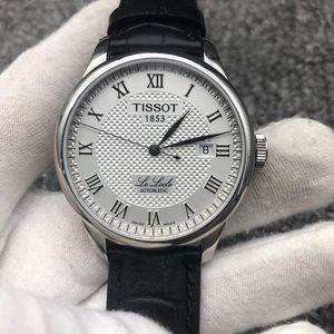 TISSOT 天梭力洛克系列T41.1.423.33机械表