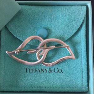 Tiffany & Co. 蒂芙尼绝版树叶胸针