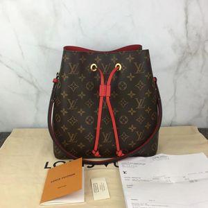 Louis Vuitton 路易·威登老花水桶包单肩包
