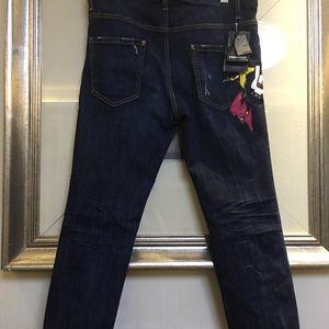 DSQUARED2 D二次方牛仔裤