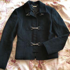 Michael kors 迈克.科尔斯黑色羊毛外套