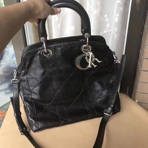 Dior 迪奥黑色手提包