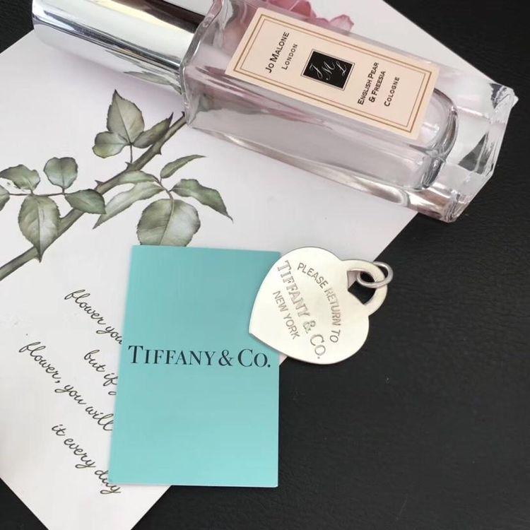 Tiffany & Co. 蒂芙尼绝版超大爱心吊坠