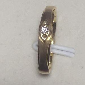 Laofengxiang 老凤祥彩金钻石戒指
