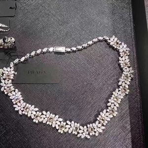 PRADA 普拉达宝石项链