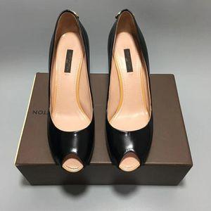 Louis Vuitton 路易·威登鱼嘴高跟鞋