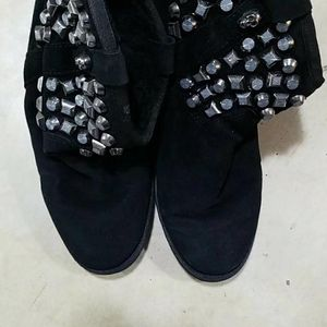 ASH Shoes 艾熙女士羊羔绒靴子