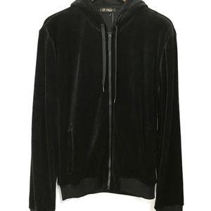 Versace 范思哲男士美杜莎丝绒卫衣外套