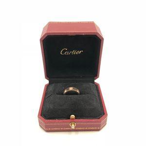 Cartier 卡地亚三钻玫瑰金戒指