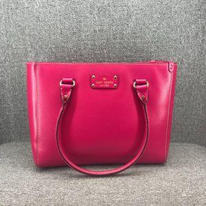 Kate Spade 凯特·丝蓓红色手提包