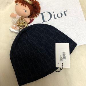 Dior 迪奥新款老花羊毛帽子