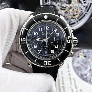 Blancpain 宝珀五十寻计时机械表