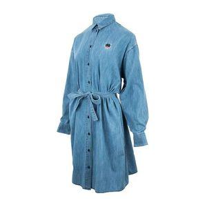 KENZO 高田贤三女士时尚老虎头长款牛仔外套